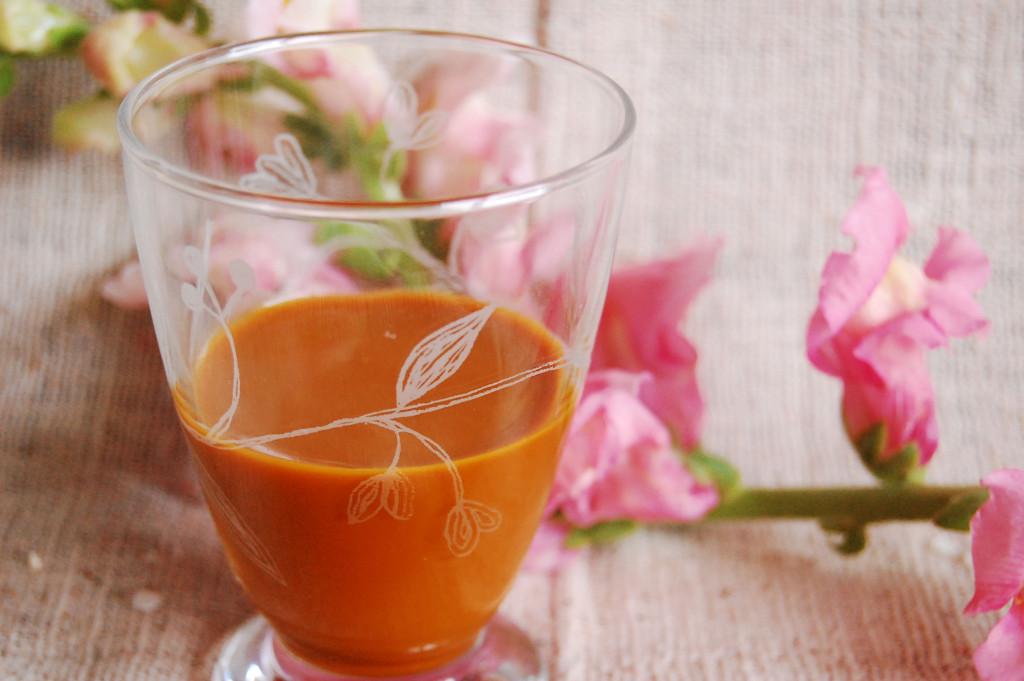 まったく自然な果実ジュース。濃厚なピューレ
